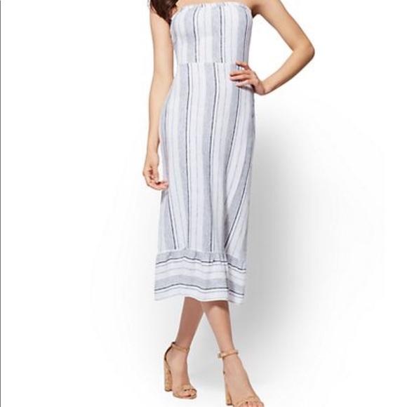 Soho Dresses & Skirts - 🔥Trendy Tie Back Stripe Dress✨✨🔥🔥